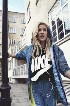 'It's An Escape': Ellie Goulding On Running, Yoga And Being The Face Of Nike's Latest Campaign