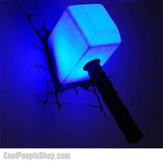 Portal lights... This would be a cool nightlight for the kids room ...