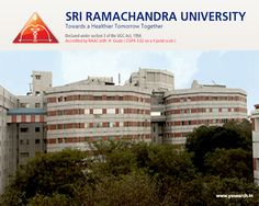 Looking for Sri Ramachandra University MD Non-Clinical Courses 2016? Visit Yosearch for SRU Chennai M.D Courses 2016, Eligibility, Application, Exam & Dates