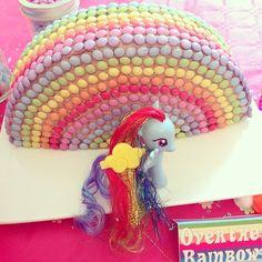 Sweet Table My Little Pony - gateau rainbow dash