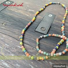Melur1 Necklace & Bracelet (Jewelry set)