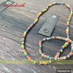 Melur1 Necklace & Bracelet (Jewelry set)