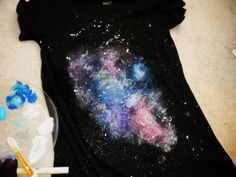 Galaxy print t-shirts are still trending this year. Besides being colorful and cool, they give…