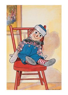 Image detail for -. Raggedy Ann and her brother Raggedy Andy? Andy here has his own book Ann Doll, Raggedy Ann And Andy, Vintage Children's Books, Vintage Art, Children's Book Illustration, Vintage Images, Childrens Books, Illustrators, Art Prints