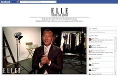 Elle lets FB fans collaborate on photo shoot