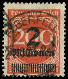 Michel. No. 309 P c, superb item, expertized Infla, Michel 1,100.- Euro  Dealer Schwanke GmbH  Auction Starting Price: 300.00EUR