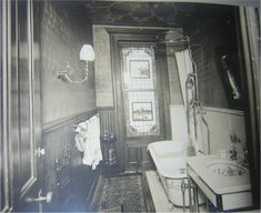 Authentic Victorian bathroom, Interior Views, 1179 Dean St, Brooklyn N.Y.