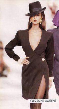 b1f8e67a8ad Vintage Yves Saint Laurent – Iman … - Cocktail dress new