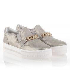 Ash Joe Womens Slip On Sneaker Sand Leather  340667 (298)