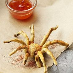 Deep fried tarantula