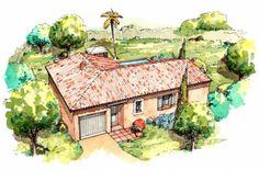 Plan maison neuve à construire - Les Maisons de Manon Flora 100