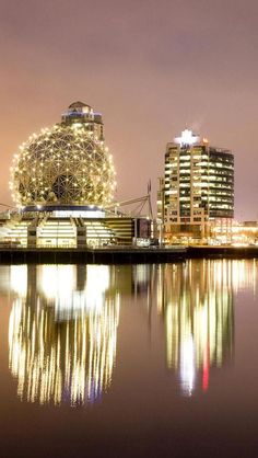 Science Museum, Financial Center, Downtown, Vancouver, British Columbia, Canada, North America, Geography,
