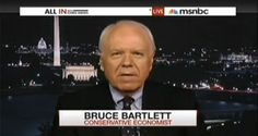 'Stupid And Crazy' – Former Bush Economist Slams The Republican Party – VIDEO