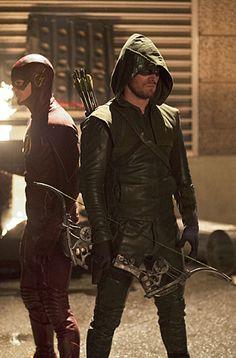 Arrow / Flash Crossover - Barry Allen & Oliver Queen