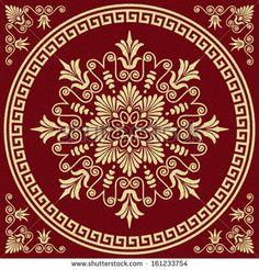 Greek Border Ornaments, Meanders Stock Vector 158049530 : Shutterstock