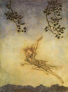 Arthur Rackham - A Midsummer Night's Dream