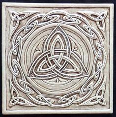Celtic tile all over my kitchen