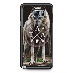 The Amity Affliction Wolf LogoPhonecase Cover Case For Samsung Galaxy Note 2 Samsung Galaxy Note 3 Samsung Galaxy Note 4 Samsung Galaxy Note 5 Samsung Galaxy Note Edge