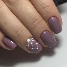 Маникюр. Дизайн ногтей. Art Simple Nail
