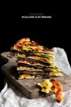 Multi Layered Scallion Flat Breads from Lady and Pups Blog. She is the MOST fun to read.