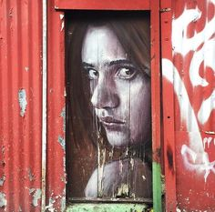 Opera realizzata dallo street artist australiano Rone a Melbourne.