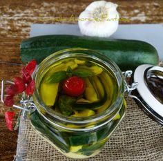 zucchine sott'olio alla siciliana senza cottura 2