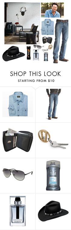 """""""Untitled #3443"""" by empathetic ❤ liked on Polyvore featuring Club Monaco, Ariat, AQS by Aquaswiss, Dove, Christian Dior, Master Hatters of Texas, Axe, men's fashion and menswear"""