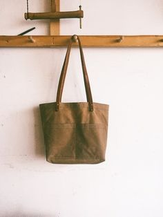 Hudson/'s Hill Handmade Cone Mills Denim Tote Bag
