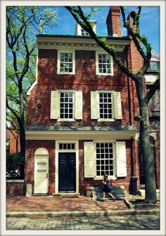 Philadelphia house. Find a cheap bus ticket to New York City on www.bustripping.com and get moving!