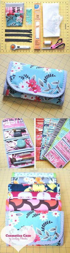 Small cosmetic bag | DIY Stuff - small ladies bags, bag lady, designer bags sale *sponsored https://www.pinterest.com/bags_bag/ https://www.pinterest.com/explore/bags/ https://www.pinterest.com/bags_bag/weekend-bag/ http://www.calvinklein.us/shop/en/ck/search/mens-bags