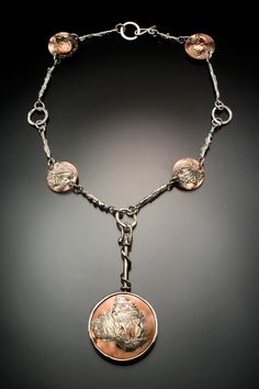 Copper and Sterling - Julie Sanford Designs