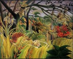 Surprised! by Rousseau 1891