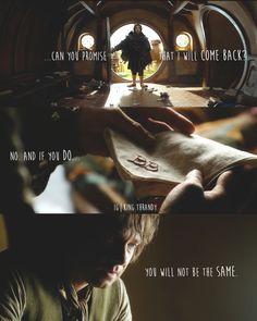 Bilbo's never gonna be the same again :'(