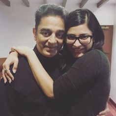 My daddy is the strongest !!! Standing walking beating the obstacles and doing it in style @ikamalhaasan