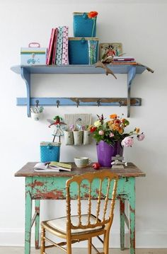 Inspiration for a small workspace in the house