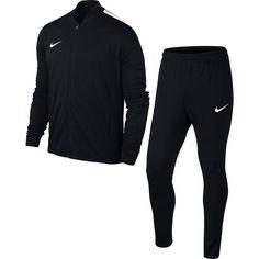 aef1fd0abfc0e Nike - Academy 16 - Survêtement - Mixte Enfant - Noir  (Black Black White White) - M