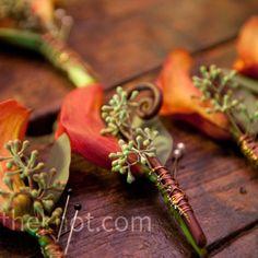 calla lily boutonniere