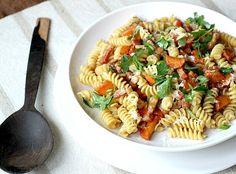 Pasta con Panceta, Zanahoria y Miso - Cocina Central