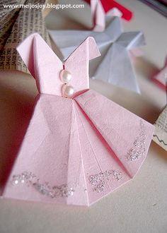 Cute origami dress