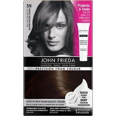 John Frieda Precision Foam Hair Color Medium Natural Brown