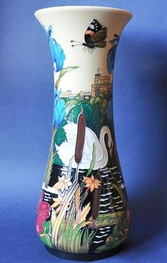 Moorcroft Pottery A Vision of Windsor 364/12 Paul Hilditch Open Edition  http://www.bwthornton.co.uk/moorcroft.php