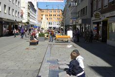 Bregenz Fußgänger Zone© Bodensee-Vorarlberg Tourismus Feldkirch, Eurotrip, Austria, Street View, Travel, Europe, Bregenz, Road Trip Destinations, Viajes