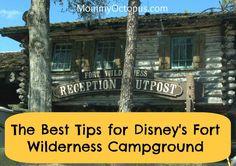 Disney's Fort Wilderness Resort Campground Tips | Mommy Octopus
