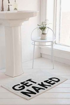 Assembly Home Get Naked Bath Mat