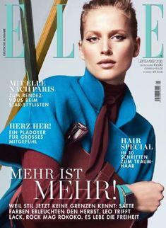 Laura Julie Schwab, Elle Magazine [Germany] (September 2016)