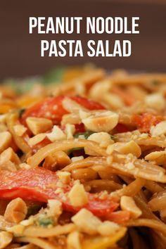 Peanut Noodle Pasta Salad