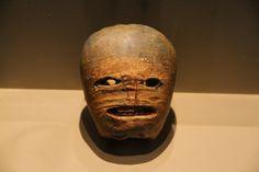 "National Museum of Ireland: ""Jack of the lantern"" carved turnip"