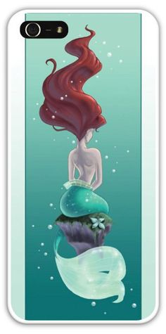 Ariel The Little Mermaid Phone Case Cover iPhone 4/4S 5/5S Samsung Galaxy S3 S4 Disney Princess Mermaids Magic Kingdom Disneyland $24.99+FREE SHIPPING