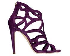 viola shoes | Color blocking en maquillaje...se atreven?