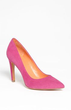 Via Spiga 'Estrella' Pump | Nordstrom Pink heels on my future big day!